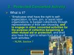 2 protected concerted activity