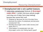 unemployment measuring unemployment6