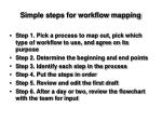 simple steps for workflow mapping
