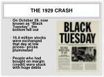 the 1929 crash1