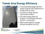 toledo area energy efficiency