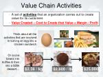 value chain activities