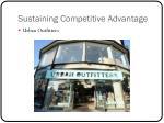 sustaining competitive advantage2