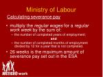 ministry of labour2