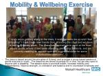 mobility wellbeing exercise