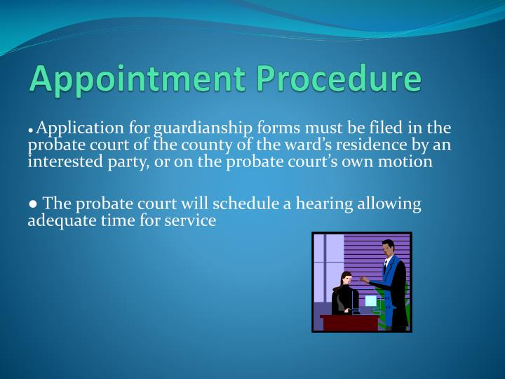 Appointment Procedure