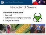 introduction of disease1
