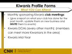 kiwanis profile forms what you can attend