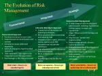 the evolution of risk management