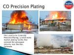 co precision plating