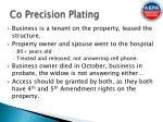 co precision plating3