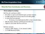 biotime acquisition corp1