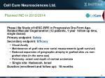 cell cure neurosciences ltd1
