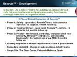 renevia tm development