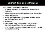 fact sheet rain garden design 2