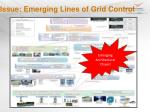 issue emerging lines of grid control