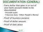 documentation general