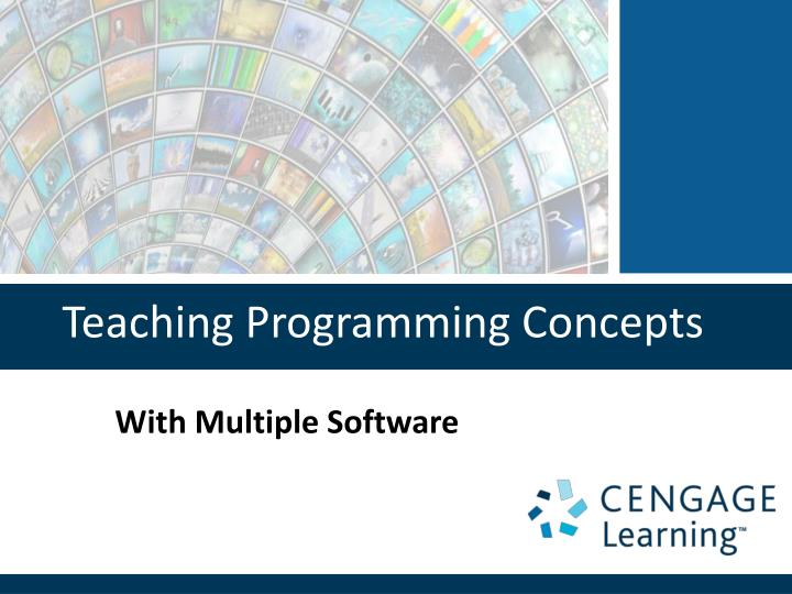 teaching programming concepts n.