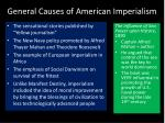 general causes of american imperialism
