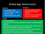 gilded age government