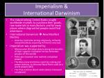 imperialism international darwinism