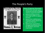 the people s party