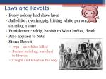 laws and revolts