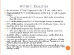 myths v realities