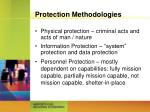 protection methodologies