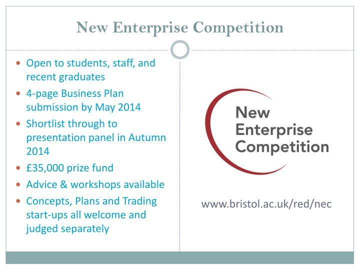 New Enterprise Competition