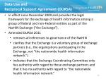 data use and reciprocal support agreement dursa