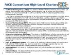 face consortium high level charters