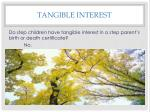 tangible interest6