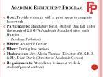 academic enrichment program