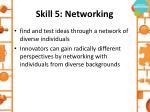 skill 5 networking