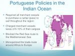 portuguese policies in the indian ocean