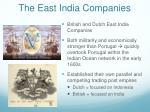 the east india companies