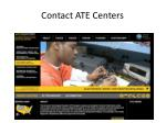 contact ate centers