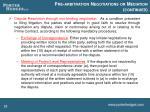 pre arbitration negotiations or mediation continued2
