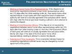 pre arbitration negotiations or mediation continued3