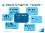 el dorado for service providers