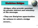 worldview bridges