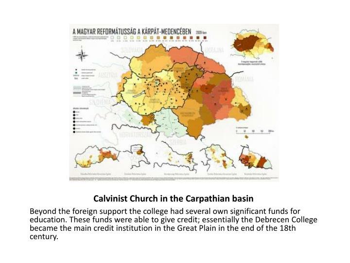 Calvinist Church in the Carpathian basin
