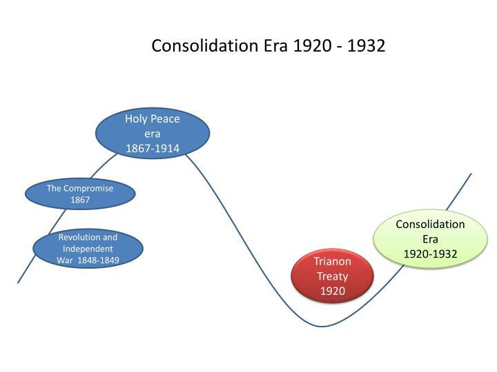 Consolidation Era