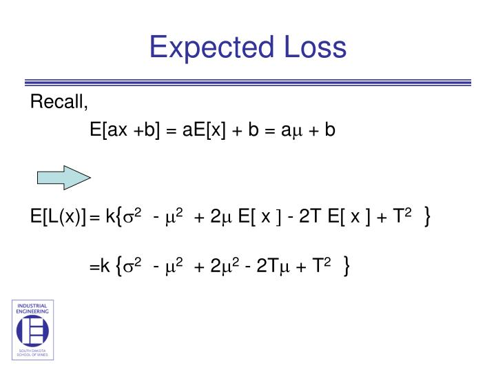 Expected Loss