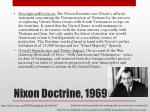 nixon doctrine 1969