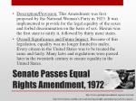 senate passes equal rights amendment 1972