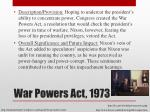 war powers act 1973