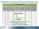 pcmh3d example medication management