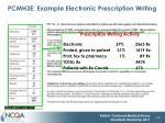 pcmh3e example electronic prescription writing
